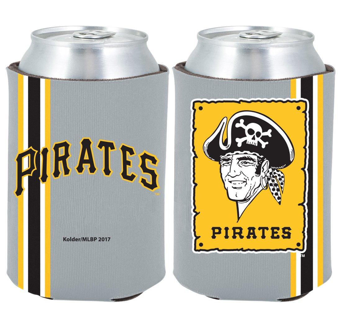 Pittsburgh Pirates 2-PACK CAN Retro THROWBACK Koozie Neoprene Holder Baseball