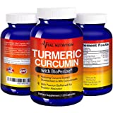 Turmeric Curcumin with BioPerine – #1 Strongest Potency with Greatest Support – 2 Month Supply –Order Risk Free