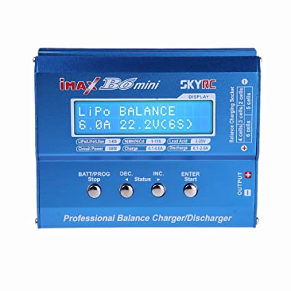 SKYRC iMAX B6 Mini Professional Balance Charger / Discharger for RC Lipo Battery Charging