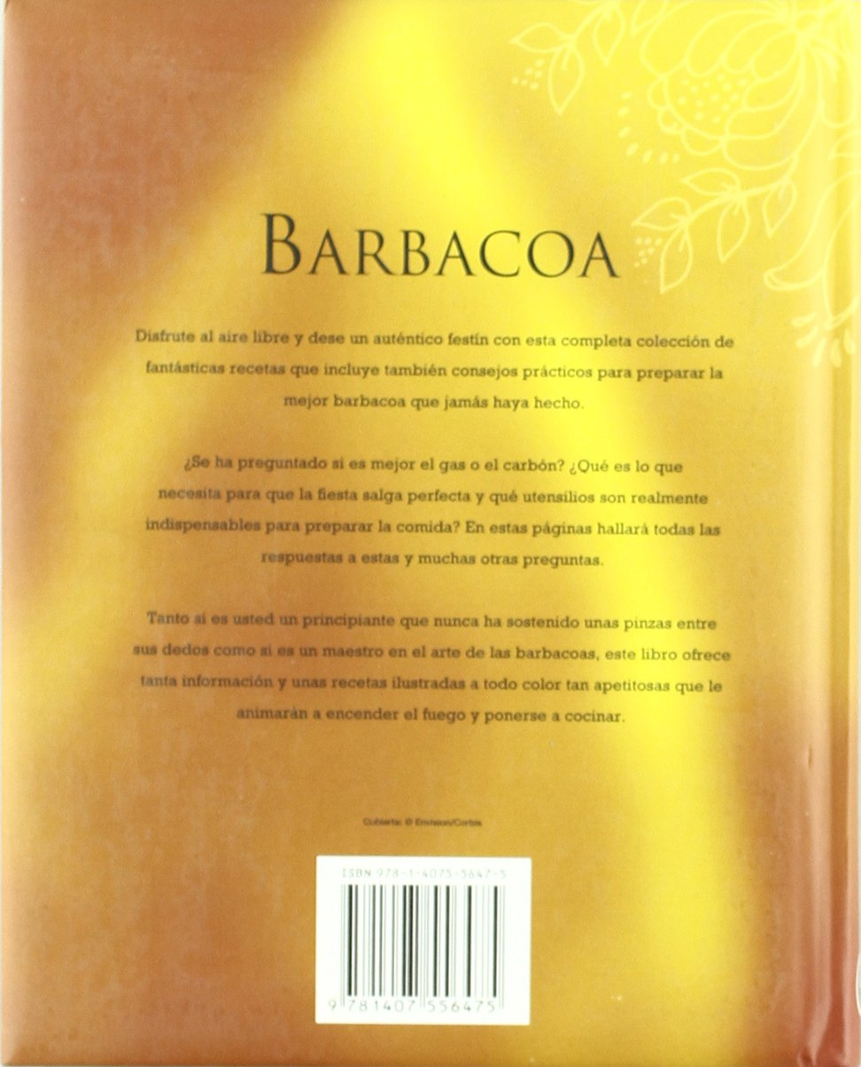BARBACOA:PARRILLADAS, SALSAS Y ADOBOS BASICOS PARA TRIUNFAR: 9781407556475: Amazon.com: Books