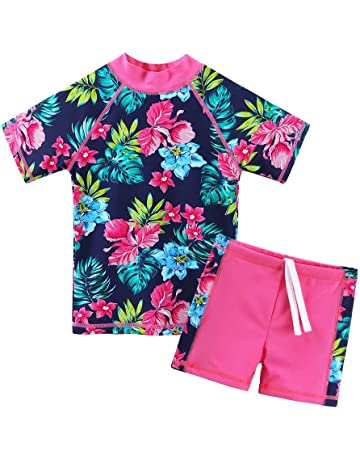 171fd41fe8c Amazon.com  Girls - Swimwear  Sports   Outdoors  One-Piece Suits ...