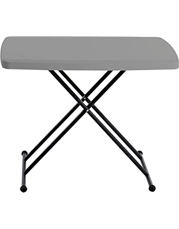 4a90ac68e2d Iceberg 65491 Indestructible Too 1200 Series Resin Personal Folding Table  30 x 20 Charcoal