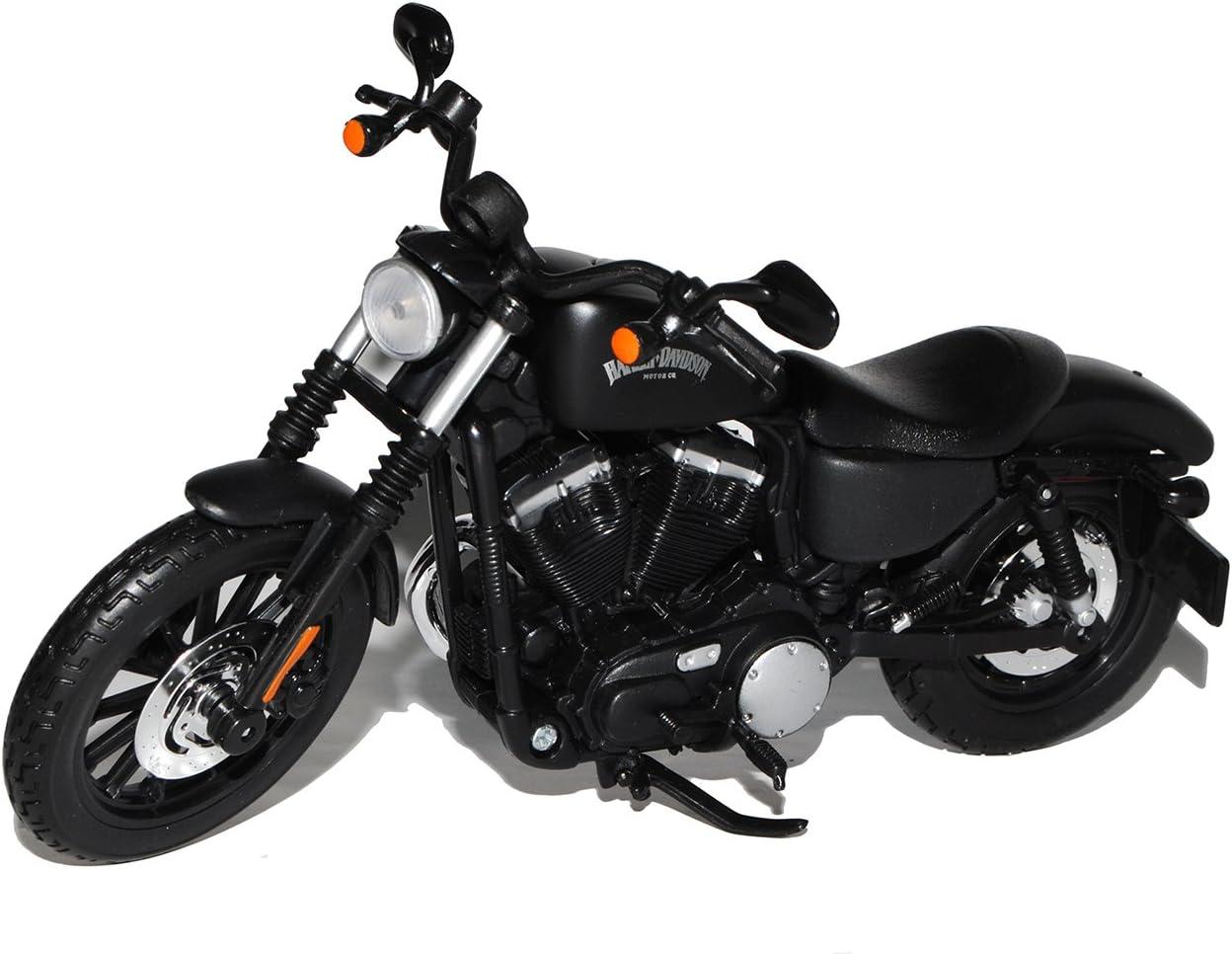 Maisto Harley Davidson Sportster Iron 883 Schwarz 2014 1//12 Motocicleta mit oder ohne individiuellem Wunschkennzeichen