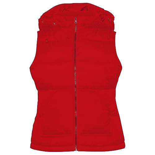 B&C – Chaleco modelo Zen+ con capucha para mujer