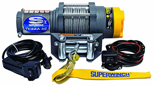 Amazon Com Superwinch 1125220 Terra 25 2500lb Winch With Roller