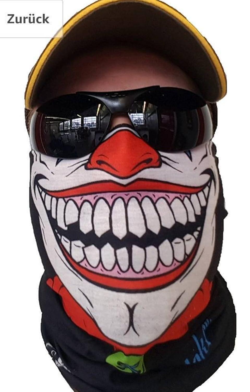 Écharpe tube aspect masque de clown SA Fishing