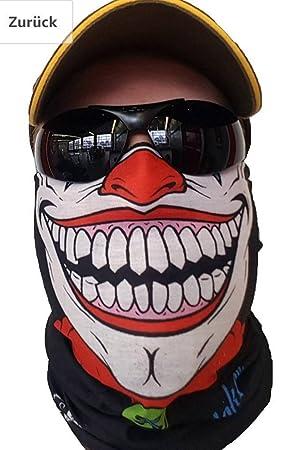 svoki payaso Pañuelo Máscara – Manguera (Protección contra el frío Máscara Halloween motocicleta esquí Snowboard