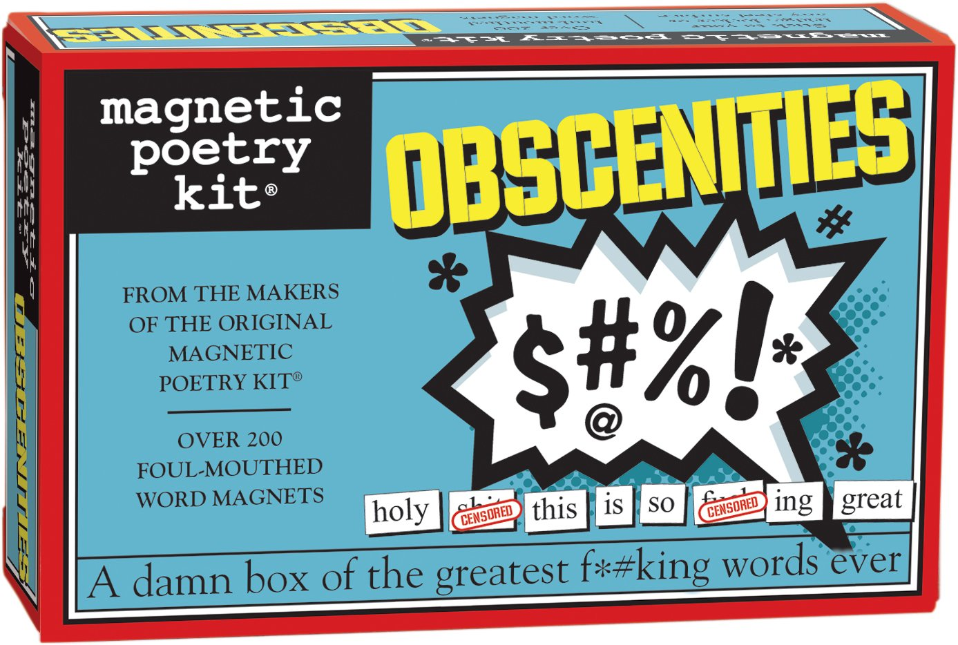 Amazon Magnetic Poetry Obscenities Kit Words For