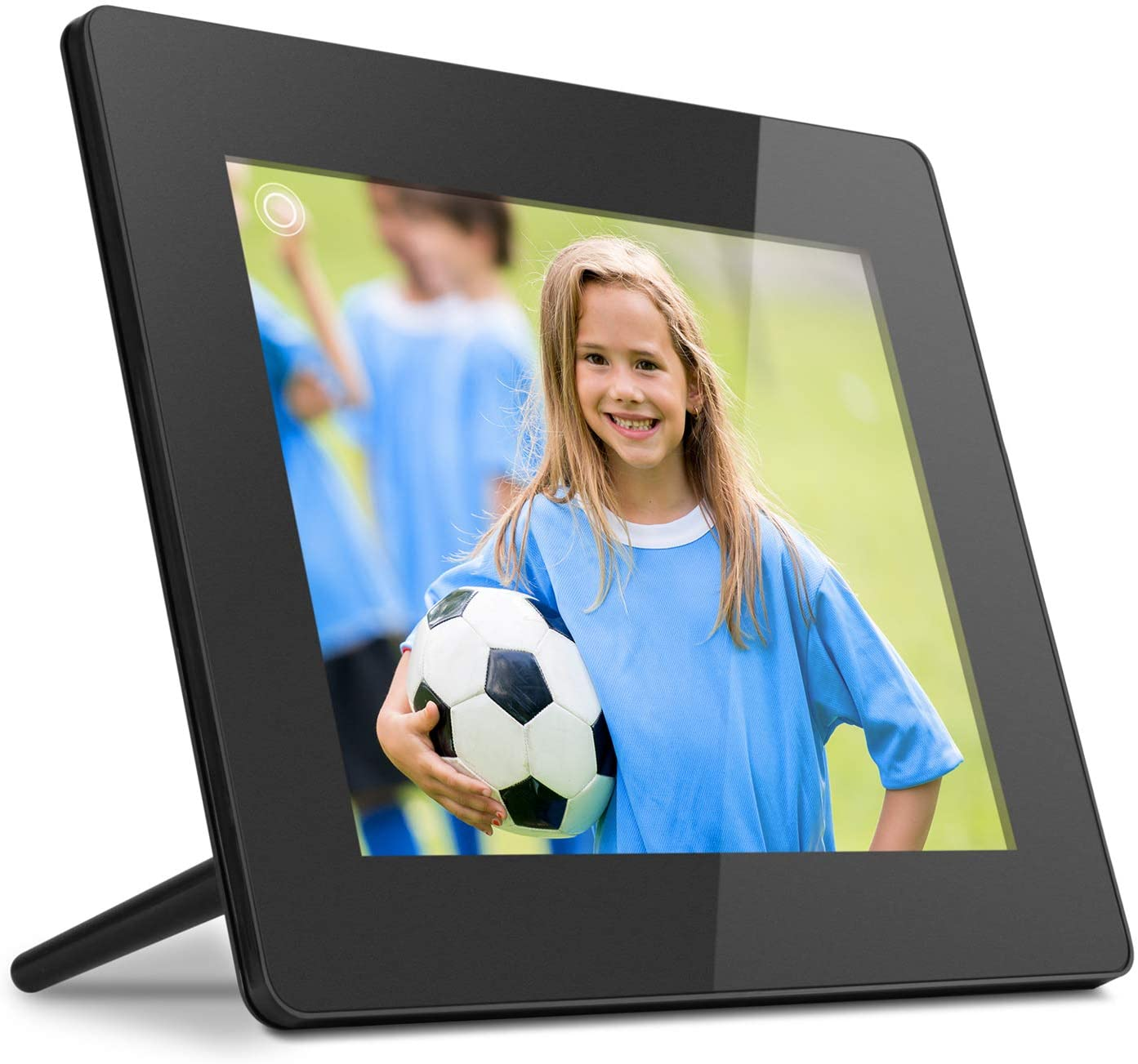 Aluratek 17.3 WiFi Digital Photo Frame with Touchscreen IPS LCD Display /& 16GB Built-in Memory Photo//Music//Video AWS17F