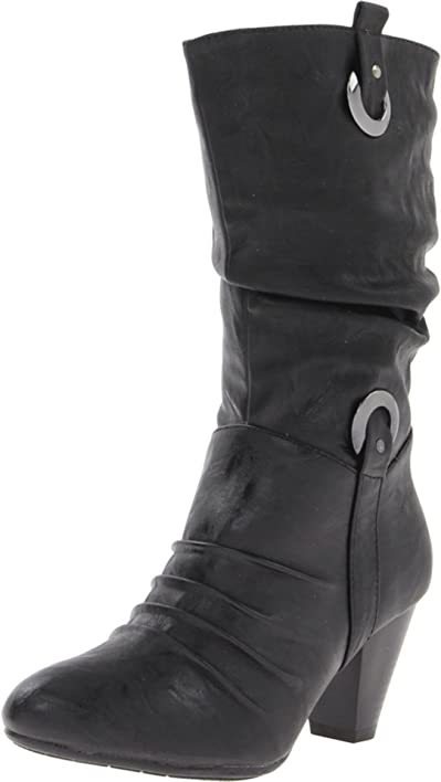PATRIZIA Women's Angelique Black Boot 38 (US Women's ...