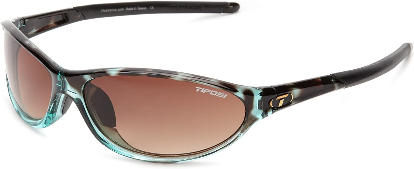 Tortoise Frame//Polarized Lens Tifosi Alpe 2.0 Sunglasses-Sport//Athletic Eyewear