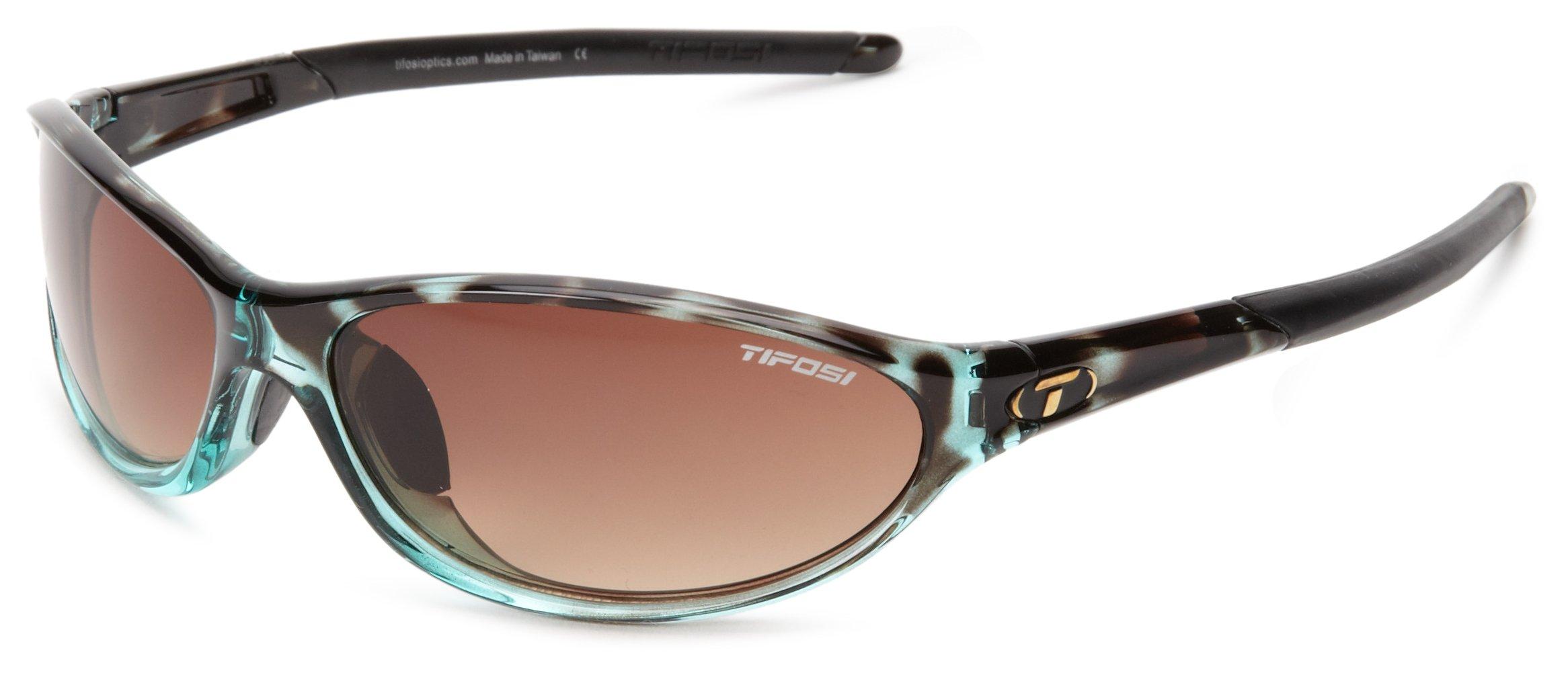 Tifosi womens Alpe 2.0 SingleLens Sunglasses,Blue Tortoise,62 mm