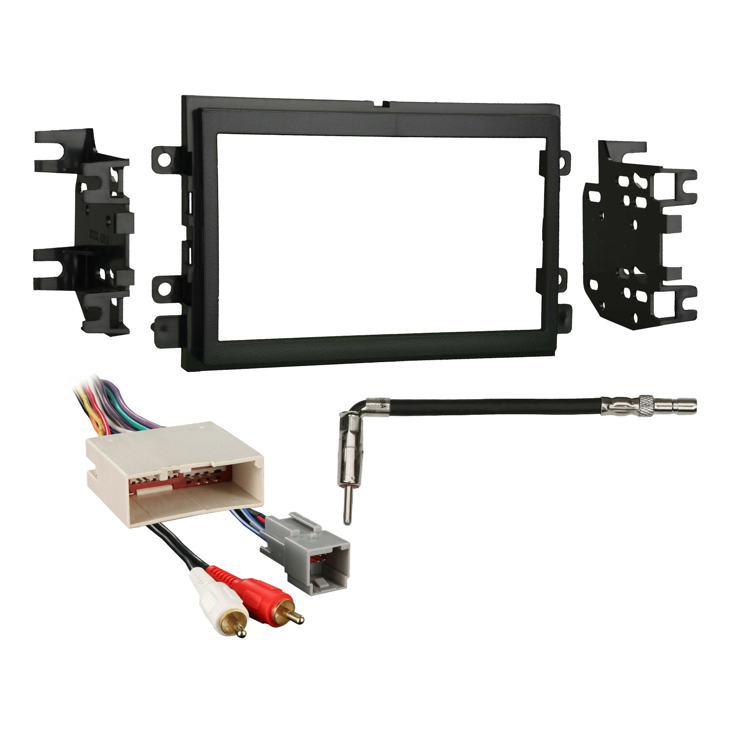 Metra 95-5812 Dash Kit + Amp Harness + Antenna Adapter for Select Ford/Mercury