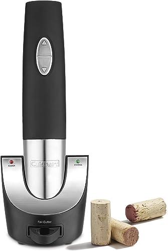 Cuisinart-Vacuum-Sealer-Cordless-Wine-Opener,-One-Size,-Black