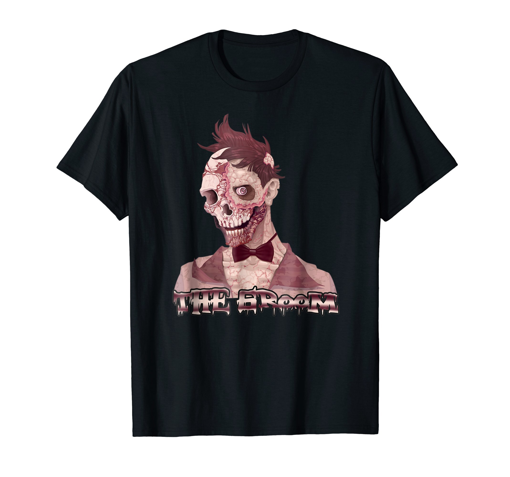 The-Groom-Zombie-Halloween-costume-T-Shirt-Tee-Gift