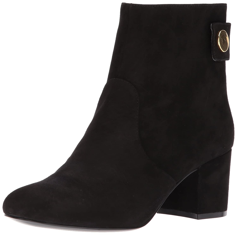 Nine West Women's Quarryn Suede Ankle Boot B0711HLW4S 9.5 B(M) US|Black Suede