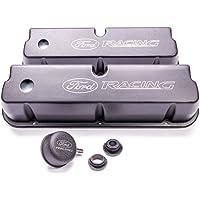 Ford Racing M-6582-LE302BK Black Laser Etched Aluminum Valve Cover Set