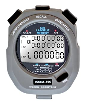 Ultrak 496 500M Swimming Stopwatch