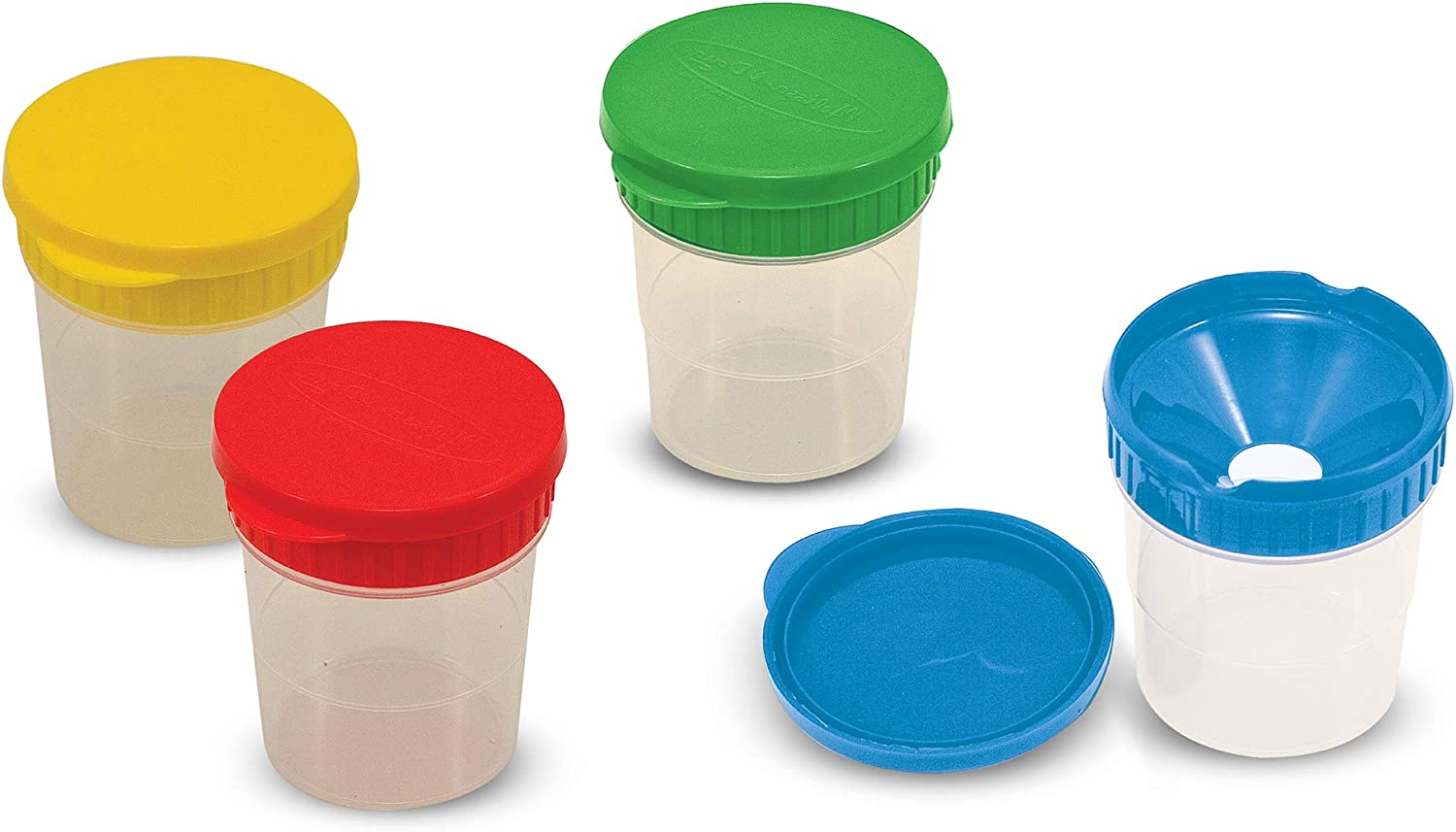 Paint Cup Set of 5 Paint Water Storage