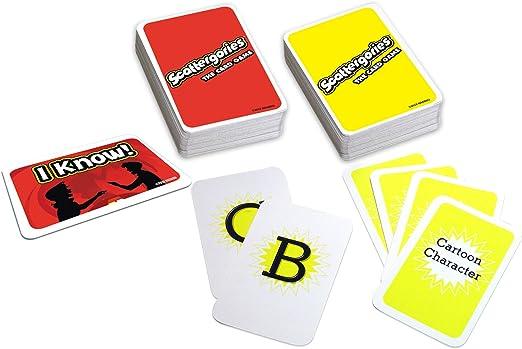 Scattergories: The Card Game: Amazon.es: Juguetes y juegos