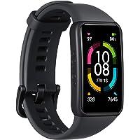 HONOR Band 6 Smart Watch SpO2 och pulsmätare, smart aktivitetsarmband med sömnmonitor, Exercise Tracker, svart