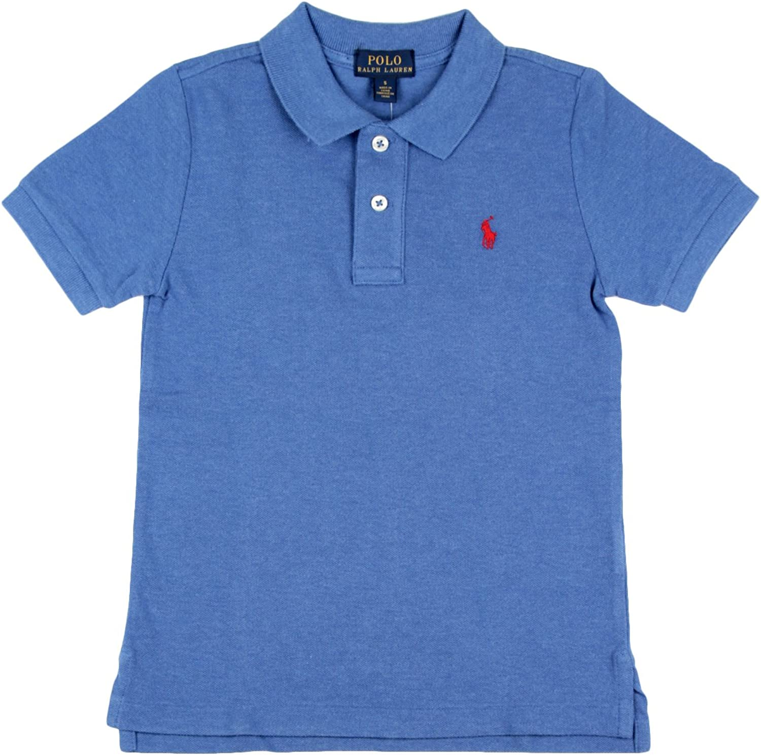 Polo Ralph Lauren SS KC TP Knt - Polo Azul Niño (4 Años): Amazon ...