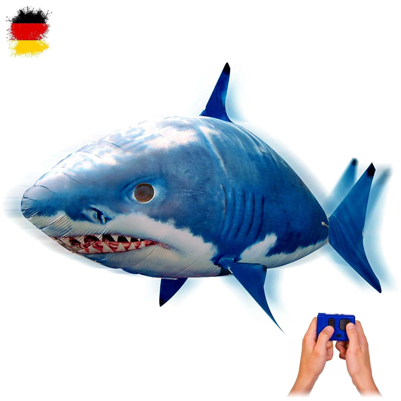 RC ferngesteuerter fliegender Hai-Fisch - Ferngesteuerter Riesenfisch, mit Helium gefüllt schwebt er in der Luft HSP HIMOTO Air Flying fish