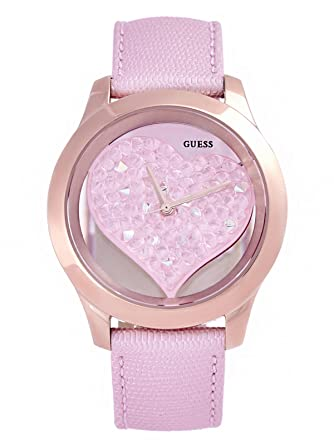 heart shaped techno womens super watches watch pink