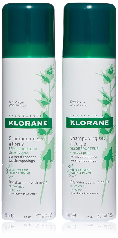 Klorane Dry Shampoo Amazoncom Klorane Dry Shampoo With Nettle Oily Hair 32 Oz
