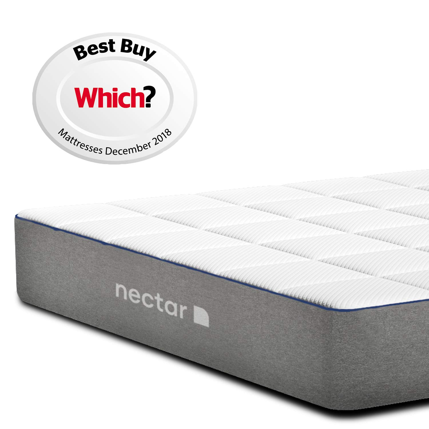 Nectar King Mattress | Memory Foam | Awarded Which Best Buy | Risk-Free 365  Night Home Trial with Forever Warranty | Good Housekeeping Recommended and