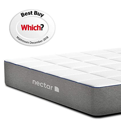 check out df178 0a510 Nectar Single Memory Foam Mattress | Awarded Which? Best Buy | Risk-Free  365 Night Home Trial with Forever Warranty | Good Housekeeping Recommended  | ...