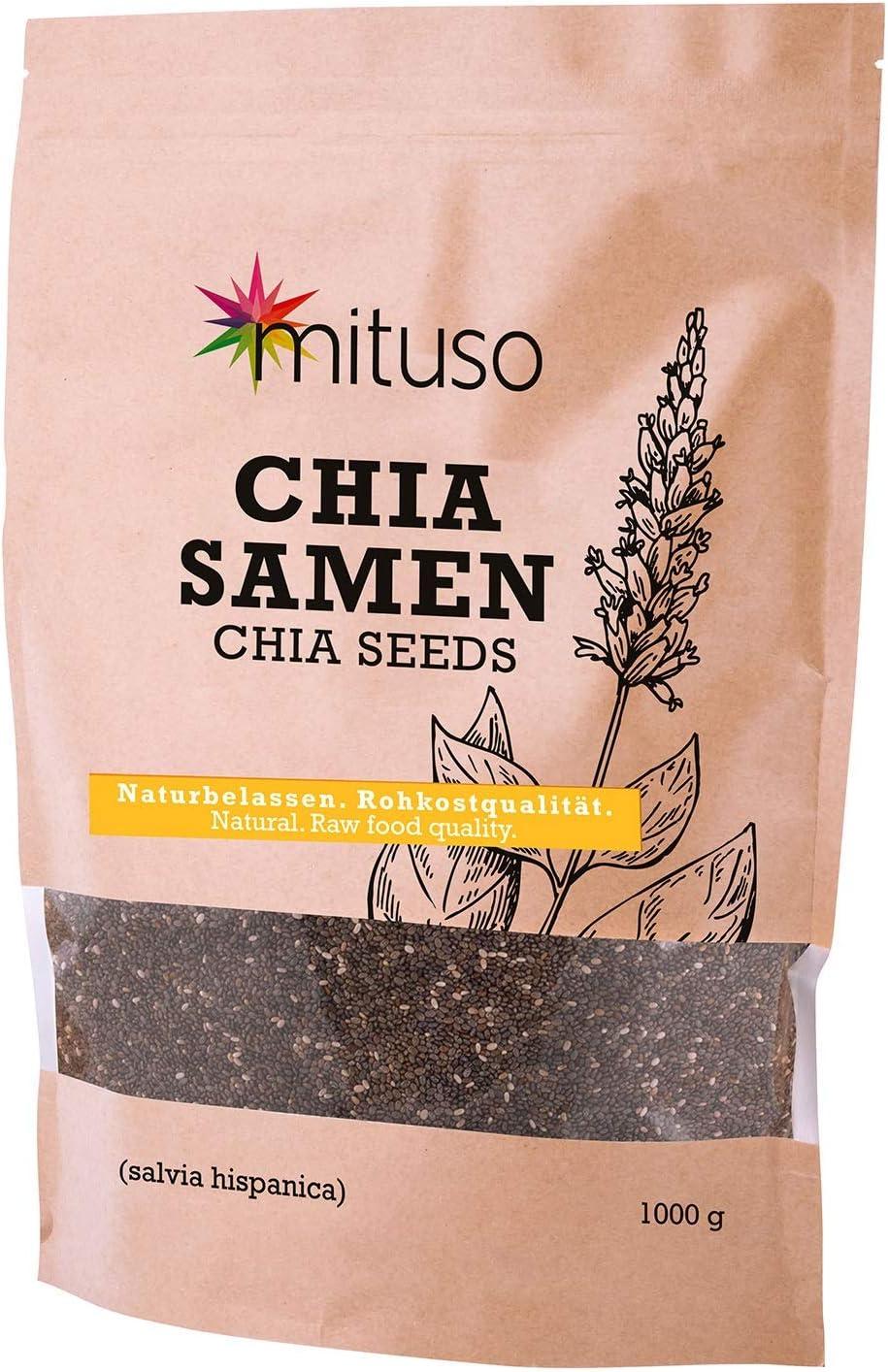 semillas de Chia mituso, 1 paquete (1 x 1000g)