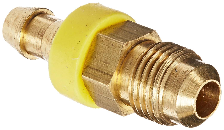 SAE 45 Degree 1//4 Tube Size 1//4 Hose ID 1//4 Tube Size Eaton Products EATON Weatherhead 10004B-304 Flare Male Rigid Fitting CA360 Brass 1//4 Hose ID