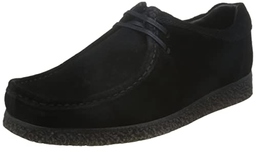 Base London Mens Black Suede 'XXI Genesis' Lace Up Shoes From Debenhams 9