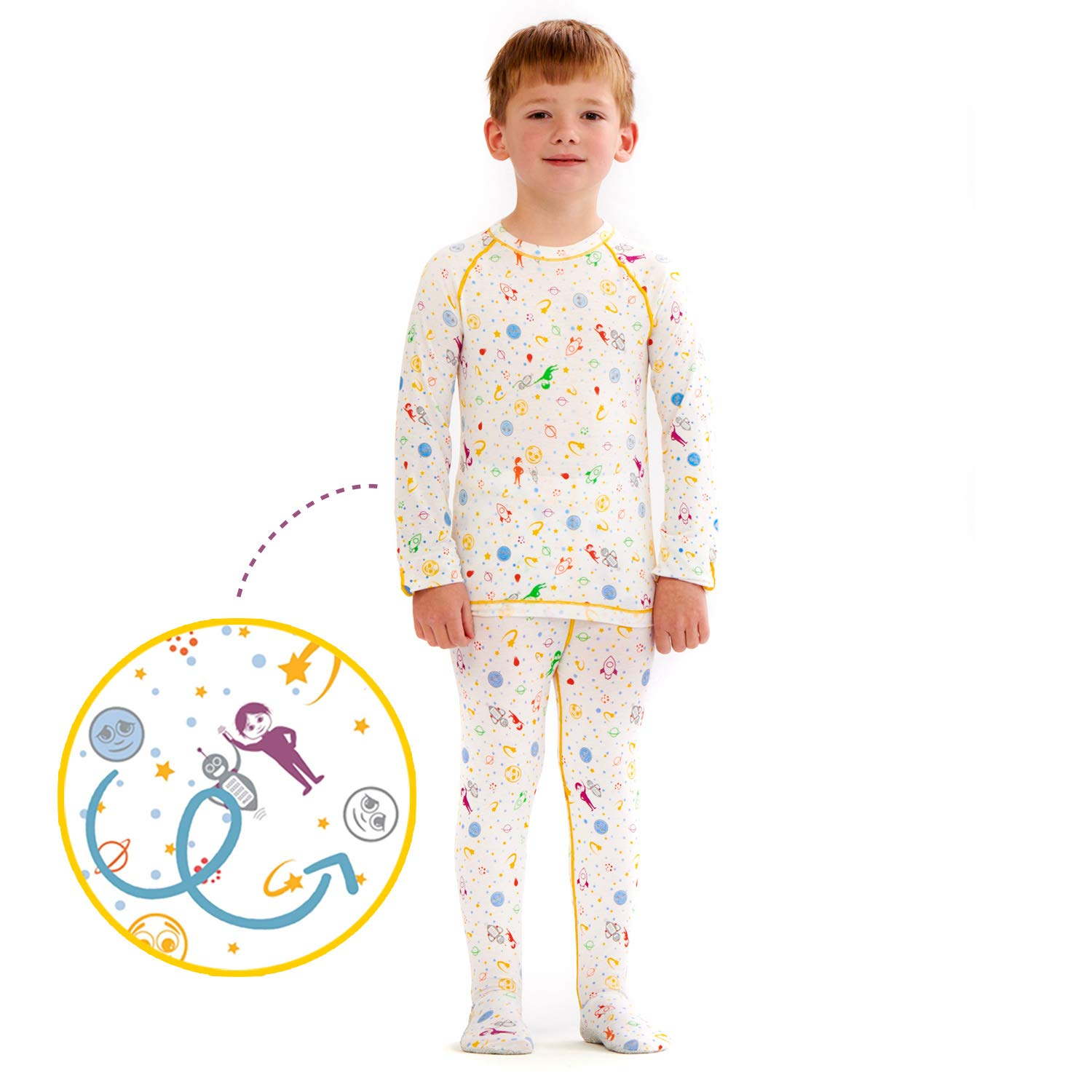 Kids Eczema Itch & Rash Relief Sleepwear Treatment Set (6)