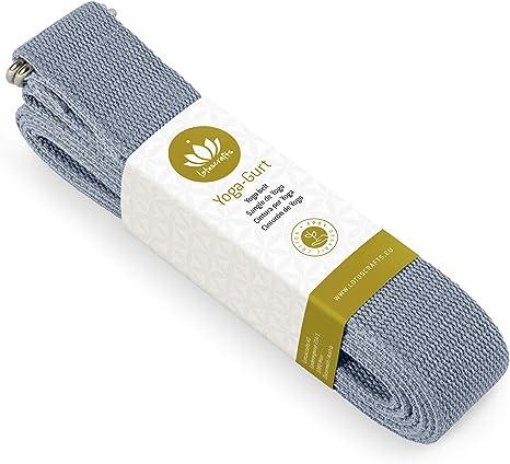 Lotuscrafts Yoga Cinturon Algodon - 100% Algodon (Cultivo ...