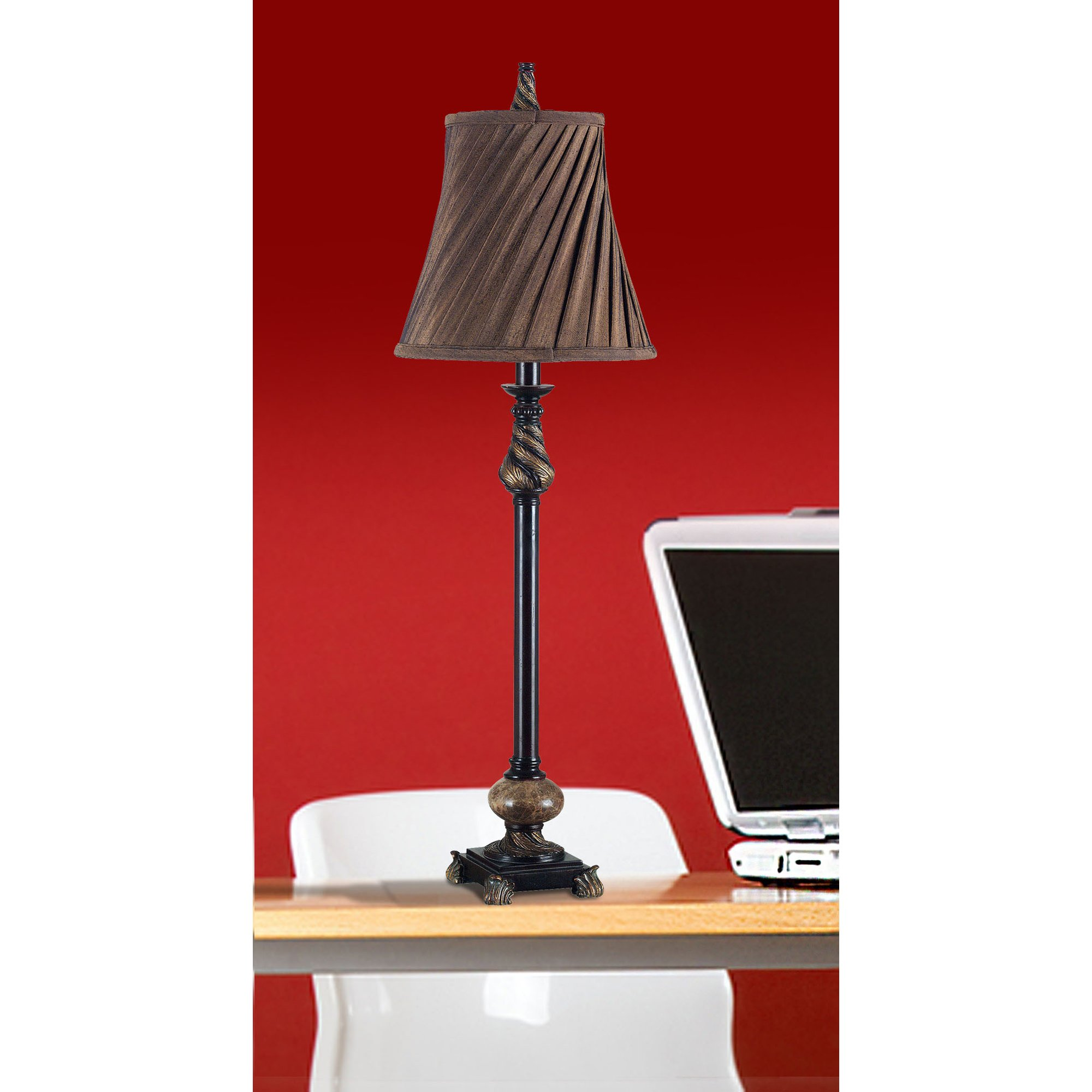 Kenroy Home Aruba 2-Pack Buffet Lamps, Oil Rubbed Bronze
