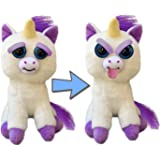 Feisty Pets Expressions Silly Glenda Glitterpoop the Unicorn Sticks her Tongue Out