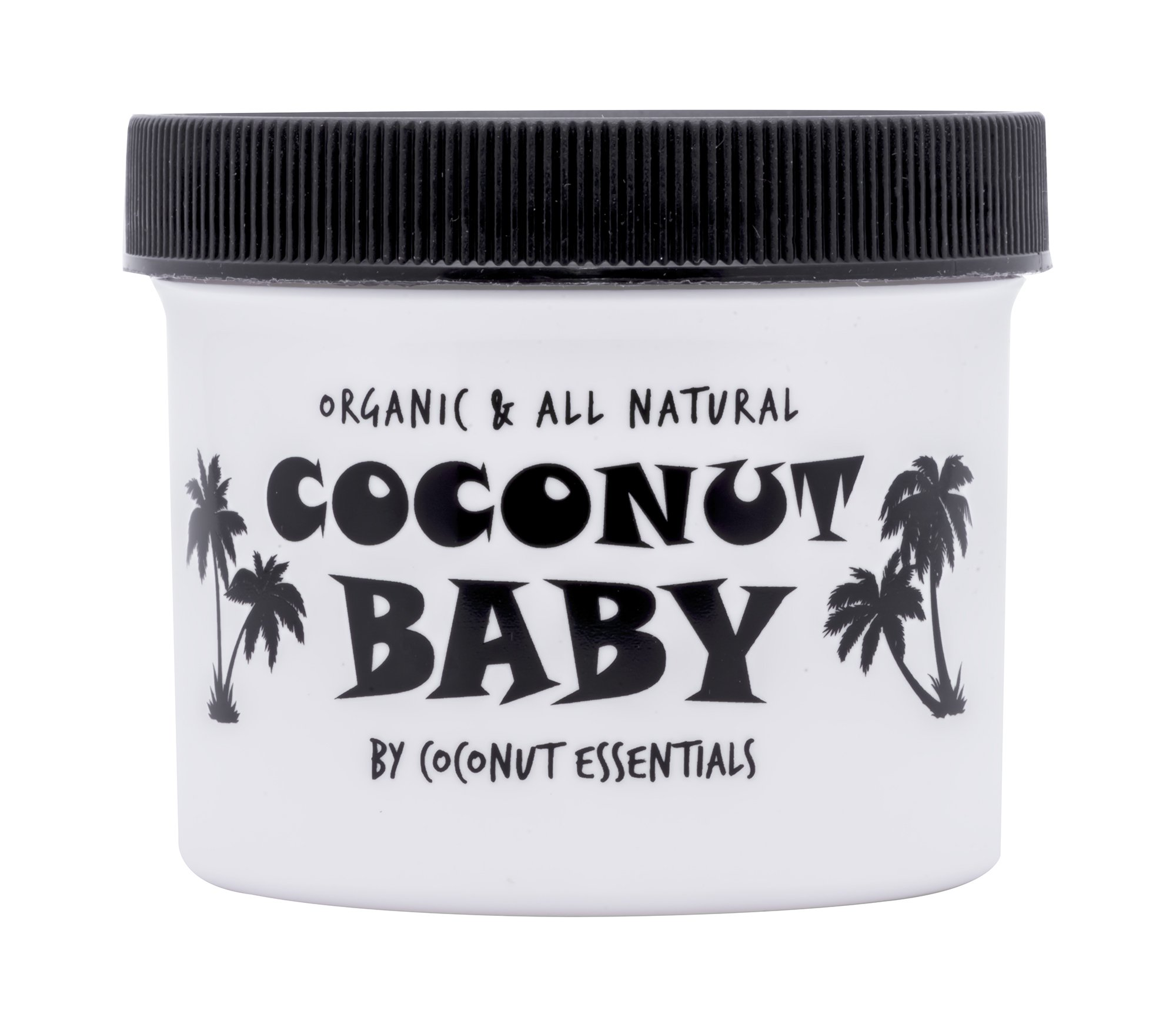 COCONUT BABY OIL Organic Moisturizer - Vitamin E Oil for Hair and Skin Care - Cradle Cap Treatment , Eczema and Psoriasis Relief - Massage - Sensitive Skin, Diaper Rash Guard, and Stretch Marks - 4 oz