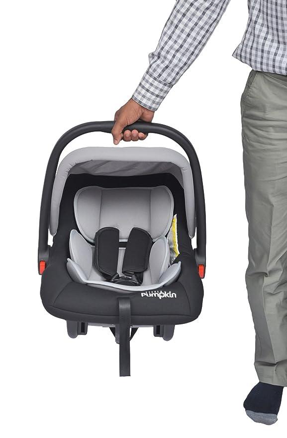 Little Pumpkin - Kiddie Kingdom - Infant Car Seat Cum Carrycot (Black Grey)