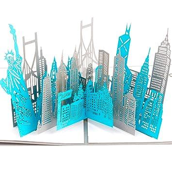 Tarjeta de Cumpleaños 3D Paper Spiritz Tarjetas Agradecimiento Felicitación Cumpleaños 3D Pop up Navidad Graduación Tarjetas Cumpleaños Personalizadas ...