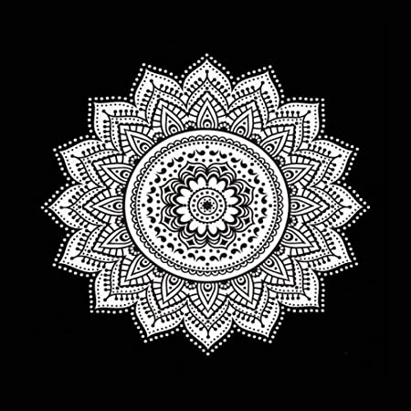 Ghoody Mandala geométrica Tapicería Colgante de Pared ...