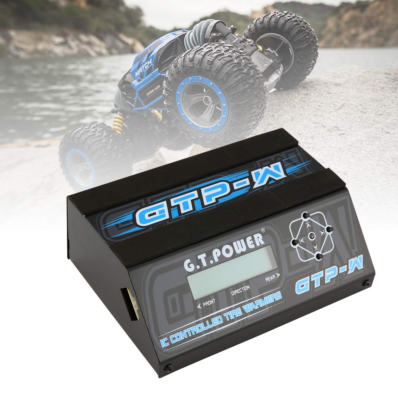 FairytaleMM GTP-W IC Temperature Controlled Reifenwärmer Tassenwärmer mit LCD-Display für 10.01 Größe Tourenwagen-Gummireifen Ersatzteile