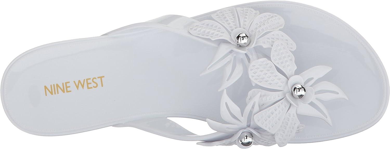 Nine West Womens MACINEE Synthetic Flip-Flop
