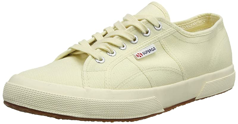 Superga 2750 Cotu Classic Sneakers Low-Top Unisex Damen Gelbgrün
