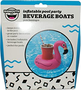 Happy Home Gifts Inflatable Flamingo Beverage Boats
