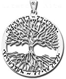 Alterras - Anhänger: Wicca Tree Of Life aus 925-Silber