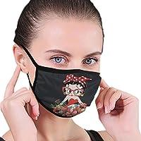 Xdhsjg Udsjj Betty Boop Face Cover Stofdichte Sjaal 3D Gedrukt Bandanas Mode Sport Gezichtsschild.