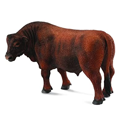 Collecta Red Angus Bull: Toys & Games
