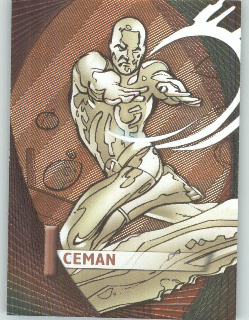 2012 Marvel Beginnings 2 Marvel Prime #M25 Iceman Non-Sport Comic Trading Cards Foil Technology Card Upper Deck - Series 2